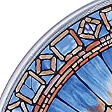 Stained Glass Panel - The Holy Spirit Round Stained