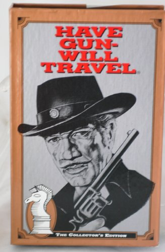HAVE GUN WILL TRAVEL VHS- Collector's Edition - Winchester Quarantine / No Visitors / The Coming of the Tiger and The Yuma Treasure