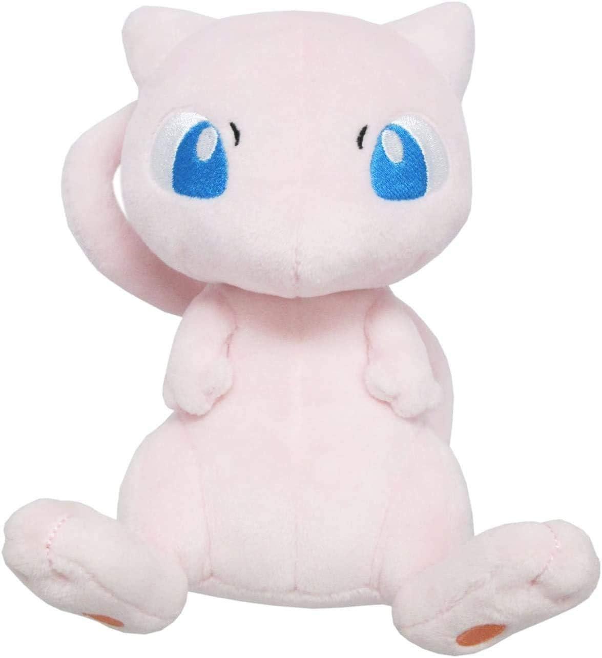 Pokémon Mewtwo Plush Doll, 6.5-inch Plush Toy