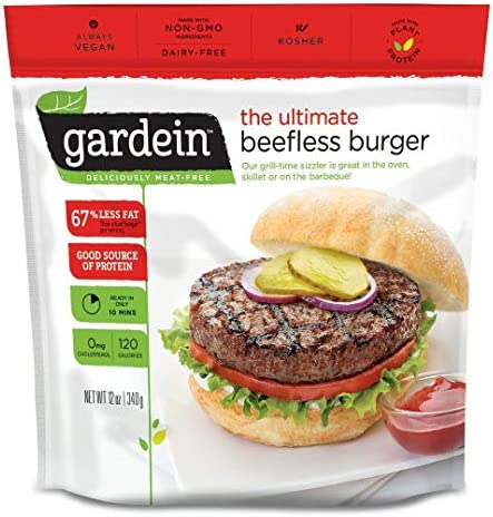 Gardein, Burger Beefless Ultimate, 12 Ounce