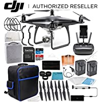 DJI Phantom 4 Pro Obsidian Edition Quadcopter EVERYTHING YOU NEED Essentials Bundle