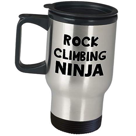 Amazon.com: Funny Cute Gag Gifts For Rock Climbing Ninja ...