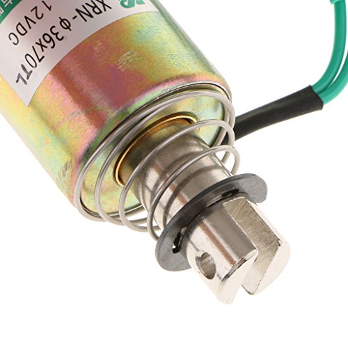Jili Online DC 12V 10mm Stroke 1kg Force Push Pull Type Tubular Solenoid Electromagnet by Jili Online (Image #6)