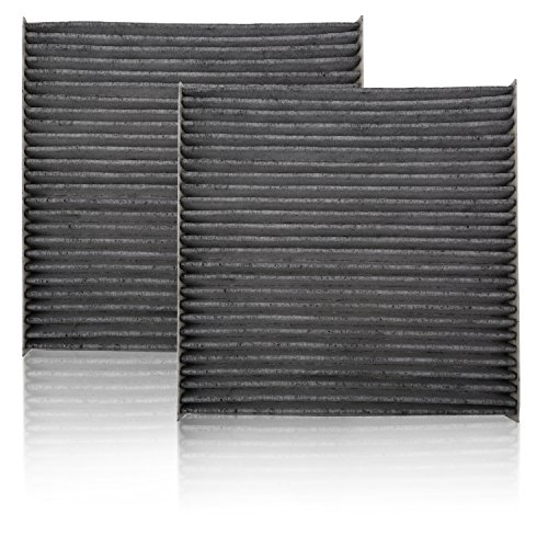 Weize 2 Pack Cabin Air Filter for CF10374, 2006-14 Toyota Tacoma, 2013-14 Dodge Dart, 2003-08 Pontiac Vibe
