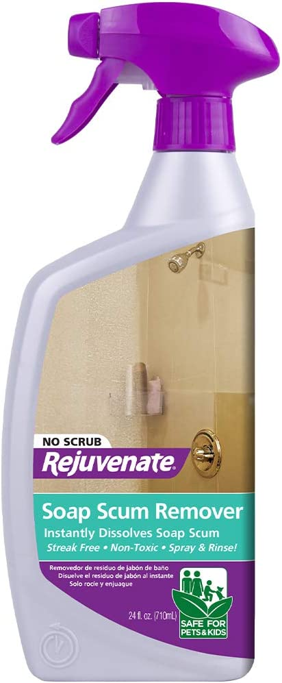 Amazon.com: Rejuvenate Scrub Free Soap Scum Remover Shower Glass