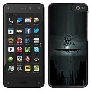 EJOY---Cubierta de la caja de protección la piel dura para el / Amazon Fire Phone / --Oscuro Árbol de Goth