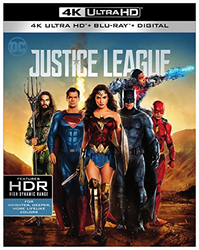 Justice League (With Blu-Ray, 4K Mastering, Digital Copy, 2PC)
