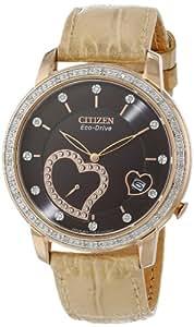 Citizen Women's EV1003-09X Desire Eco-Drive Rose Gold Tone Desire Watch