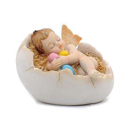 Amazon.com: Comfy Hour - Figura decorativa de ángel de bebé ...