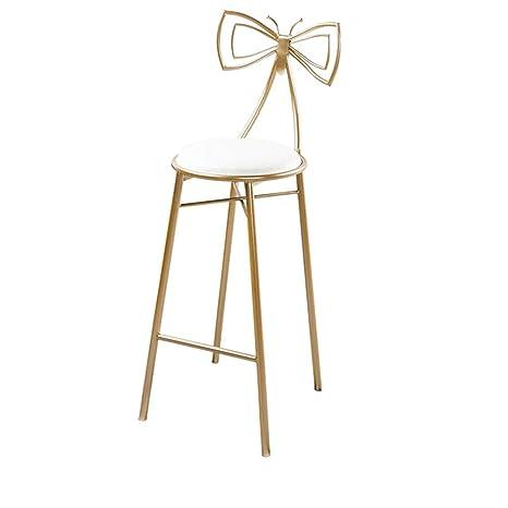 Astounding Amazon Com Jhbw Bar Stool Metal Iron Frame White Pu Frankydiablos Diy Chair Ideas Frankydiabloscom