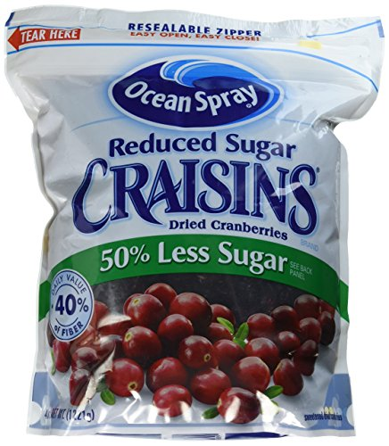 Ocean Spray Reduced Sugar Craisins Dried Cranberries 43 ...