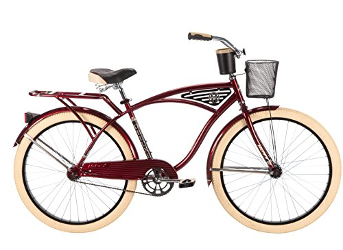 Huffy Bicycle Company Men's Deluxe Cruiser Bike, 26