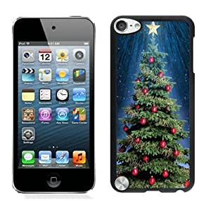 Customized Design Christmas tree Black iPod Touch 5 Case 19