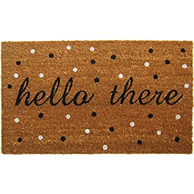 Geocrafts Vinyl Back Hello There Doormat