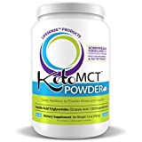 New C8 MCT Oil Powder, 12 oz, Made in USA, Most Potent on The Market, Developed by World-Class Ph.D Doctor and Professor of Nutrition, Trusted Choice of Practitioners
