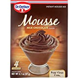 Dr. Oetker Organics Mousse Mix - Supreme - Instant - Milk Chocolate - 3.1 oz - 1 each (Pack of 3)