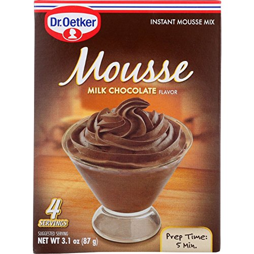 Dr Oetker Organics Mousse Mix  Supreme  Instant  Milk Chocolate  31 oz  case of 12