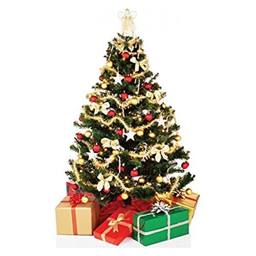 christmas tree advanced graphics life size cardboard standup - Cardboard Christmas Decorations