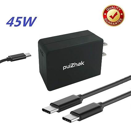 Amazon.com: puizhak Universal 45 W 65 W USB tipo C a C PD ...