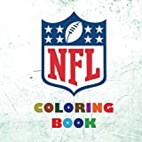 NFL Coloring Book (2017-2018): All 32 NFL American Football team logos to color - Super childrens birthday gift / present idea.
