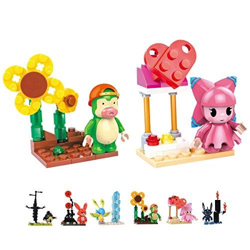 FreeBex Mini Building Blocks Set Learning Education Toys for Boys Girls Kids Toy