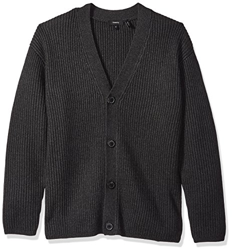 (Theory Men's Oversized Cardigan, Coin, M)