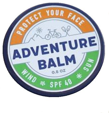 Adventure Balm - The BEST Natural Sunburn & Windburn Protection for Year Round Sports & Outdoor Activities - 0.6 - Sunglasses Sunburn