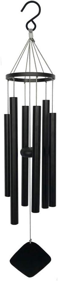 BLESSEDLAND Premium Wind Chimes-6 Hollow Aluminum Tubes, 28