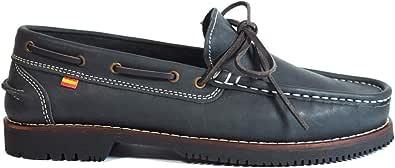 Zapatos para Hombre Fabricados en Piel Apache La Valenciana Olivenza Azul