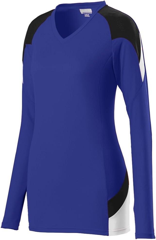 Augusta Sportswear de Las niñas de Manga Corta