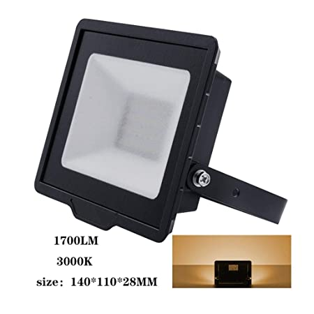 XXZJD Foco LED Proyector, Luz De Seguridad Al Aire Libre ...