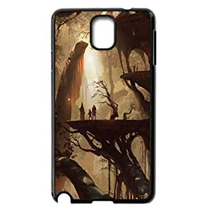 Concept City Fairy Village Hard Shell Phone Case Cover For Samsung Galaxy Note 3 Case HSL470516
