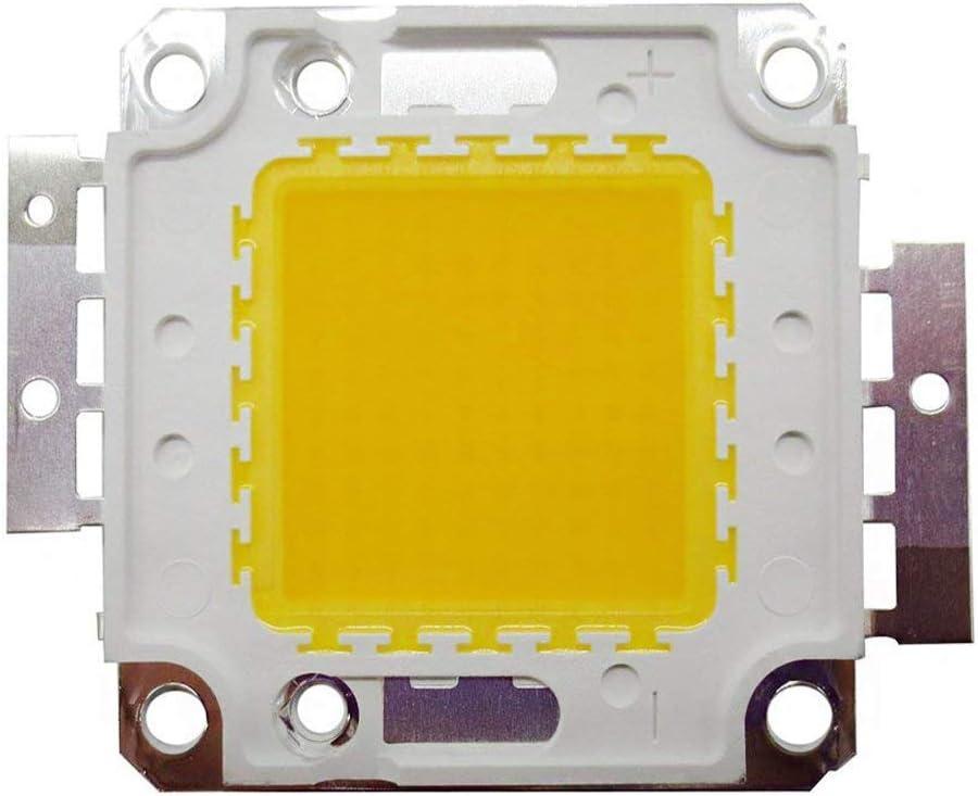 Sistema de luz LED de 100 W, disipador y lente con colimador reflector, con adaptador de 12 V para sistema de luces LED