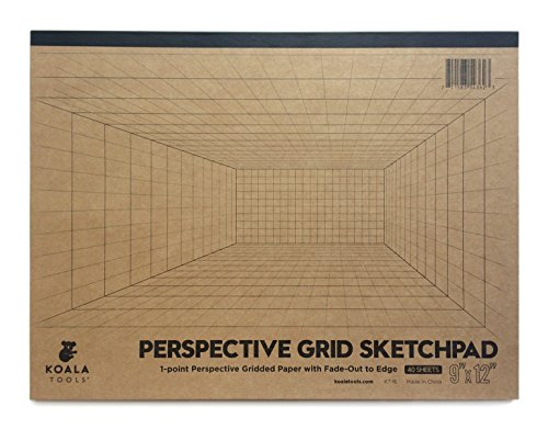 Koala Tools | Room Grid (1-Point) Large Sketch Pad | 9