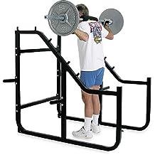 Champion 816300 Barbell Step Squat Rack Gym Equipment