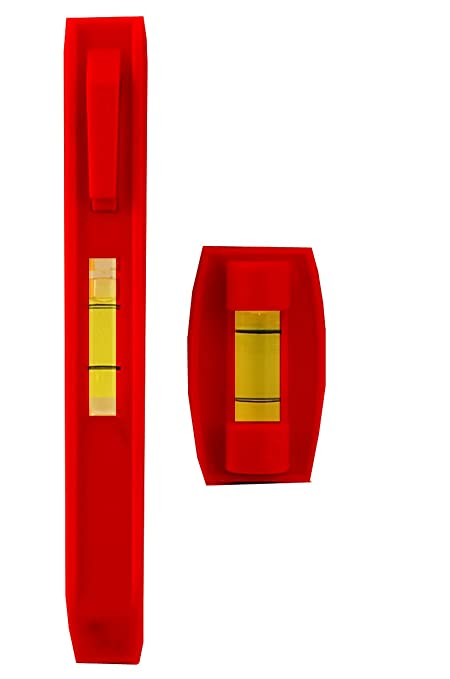 Dekton DT55222 3PC SPIRIT LEVEL SET 1 Red by DEKTON