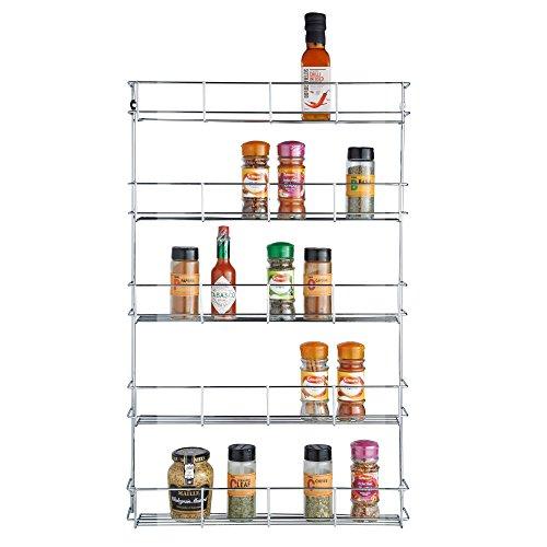 spice rack chrome - 9