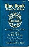 Kelley Blue Book Used Car Guide, Kelley Blue Book, 1883392608