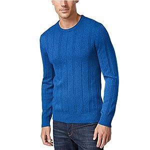 John Ashford Mens Crew Neck Long Sleeves Pullover Sweater