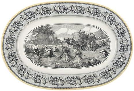 Villeroy Boch Audun Ferme 16 1 2 Inch Oval Platter Amazon Ca Home Kitchen