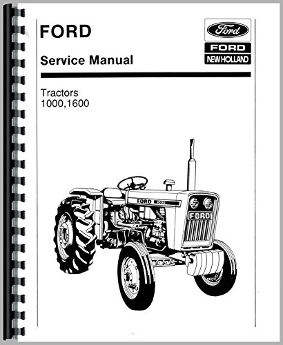 Ford Tractor Repair Manual (Ford 1600 Tractor Service Manual)
