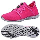 ALEADER Women's Adventure Aqua Water Shoes Fushia 6 D(M) US