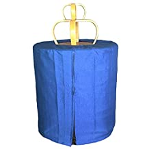 Alfie Pet by Petoga Couture - Como Bird Polyester Round Cage Cover - Color: Blue, Size: XS