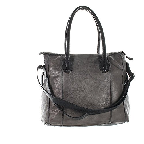 Another Bag, Borsa a tracolla donna grigio Grau