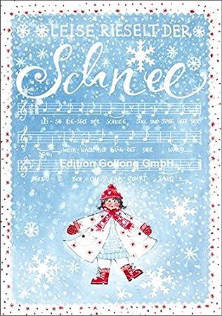 Weihnachtskarte Kerstin Heß * Leise rieselt der Schnee: Amazon.de ...