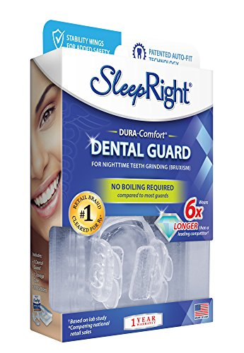 SleepRight Dura-Comfort Dental Guard – Mouth Guard To Prevent Teeth Grinding by SleepRight
