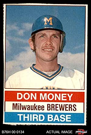 Amazoncom 1976 Hostess 136 Don Money Milwaukee Brewers