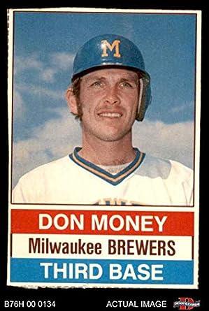 Amazoncom 1976 Hostess 136 Don Money Milwaukee Brewers