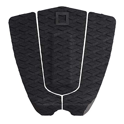 Surf Squared Surfboard Traction Pad | Arch or No Arch 3-Piece Diamond Grip Tail Pad for Surfing or Skim Board, 3 Piece Arch Bar Pad