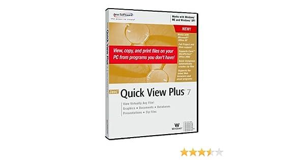QUICK VIEW PLUS VERSION 7